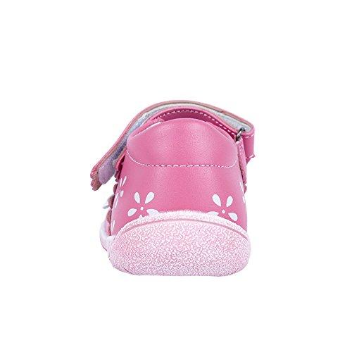 Ballerinas für Mädchen Sommer schuhe komfortables Fußbett (11194) Rosa