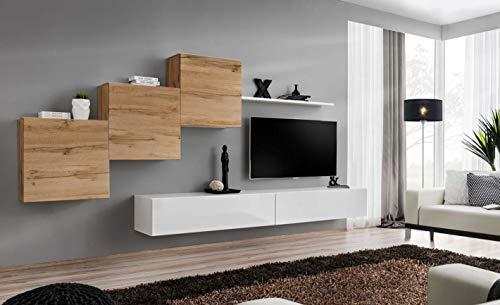 Juub switch x wtw - pannello da parete per salotto o armadio, finitura lucida