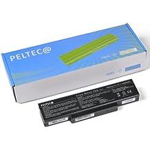 PELTEC@ - Batería de repuesto para portátil Asus A32-F3 A33-F3 F2 F3 A9 A95 A9000 M50 M51 A32-F3 A33-F3 A42-A9 90-NIA1B1000 90-NI11B1000 90-NIFY6B1000Z BATEL80L6, color negro