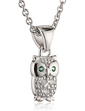 s.Oliver Kinder und Jugendliche Halskette 925 Sterling Silber Kristall Zirkonia 40.0 cm weiß 462389
