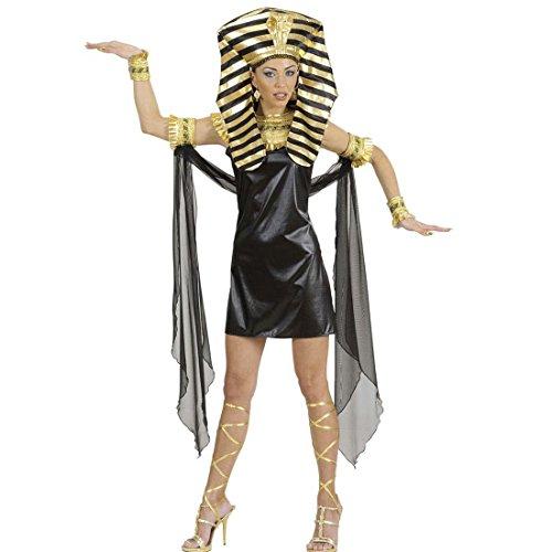 NET TOYS Cleopatra Kostüm Ägypterin Kostümset M 38/40 Pharaonin Komplett Set Antike Pharao Faschingskostüm Ägyptische Königin Damenkleid Kleopatra Damenkostüm Karnevalskostüm Damen Sexy