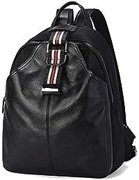 Women s Backpack – Bolso Bandolera Design Negro Mujeres de Hombro décontracté Mujeres