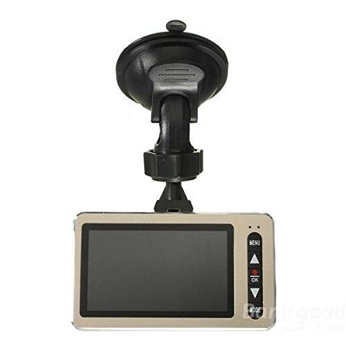 mark8shop 6,9cm Auto DVR Video Digitale Kamera Recorder LCD-Bildschirm 170Grad Nachtsicht 1080P Full HD - Digitale Lcd-dvr