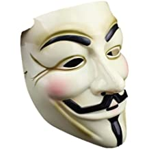 V for Vendetta Mask / Anonymous / Guy Fawkes mask mask pvc yellow cream (japan import)