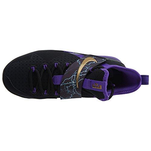 BASKETS AIR FORCE 1 MID JR WHITE/PURPLE - Nike Blanc