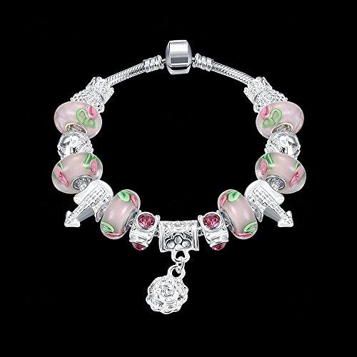 JINSH Home Legierungsfarbe Kristall Perlen Armband Ebay heißer Schmuck