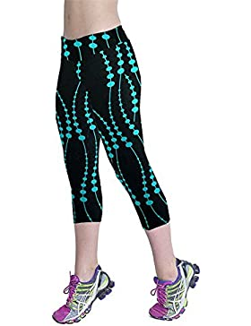 Tangbasi Alta Cintura Pantalones Deportivos de Yoga Polainas de Yoga para Mujeres