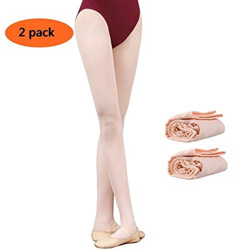 GUTANG-DC 2Pares Medias Ballet Niñas Ladies Full