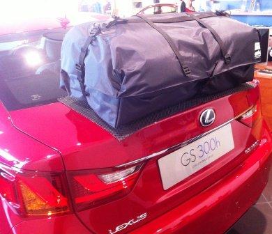 Preisvergleich Produktbild LEXUS GS Dachträger Dachbox Alternative boot-bag Urlaub