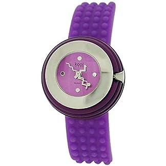 Eton KT14Purple – Reloj para mujeres, correa de silicona color morado