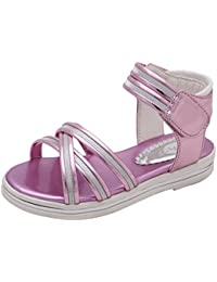 Y-BOA Sandales Princesse Fille Voyage Été Spartiates Chaussures Ville Enfant PU Outdoor