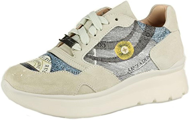 GATTINONI Zapatillas Mujer Sneaker Crema (37 EU)