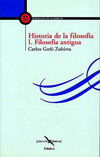 Historia de la filosofía I (Albatros) por Carlos Goñi Zubieta