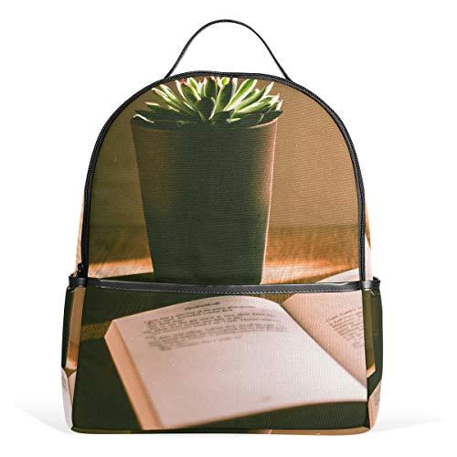 Reiserucksack Frauen Männer Bookbag School College für Teens Lesen (Lesen Teen)