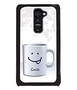 PrintDhaba Meaningful Text Back Case Cover for LG G2 - D3659