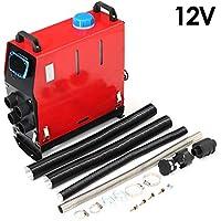 5KW 12 V / 24V calentador de coche para el barco de vapor de vapor LCD último interruptor de llave silenciador 5000 W calentador de aire diesel