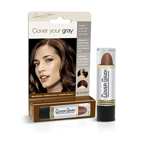 Cover Your Gray Stick Haarfarbenstift für den Ansatz in Dark Brown 44 ml. (6er-Pack) -