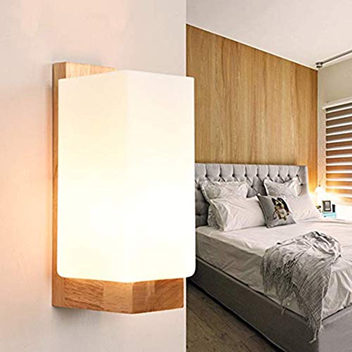 Preisvergleich Produktbild YHSGD Wall Lights LED Modern Indoor Log Night Light Bedside Lampen für Schlafzimmer Living Room Study Hallway Lighting