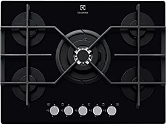 electrolux egt7353yok table de cuisson gaz noir gros lectrom nager. Black Bedroom Furniture Sets. Home Design Ideas