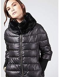 buy online 36e8f 6dfde Motivi Donna Amazon it Abbigliamento Piumini tH5pqw