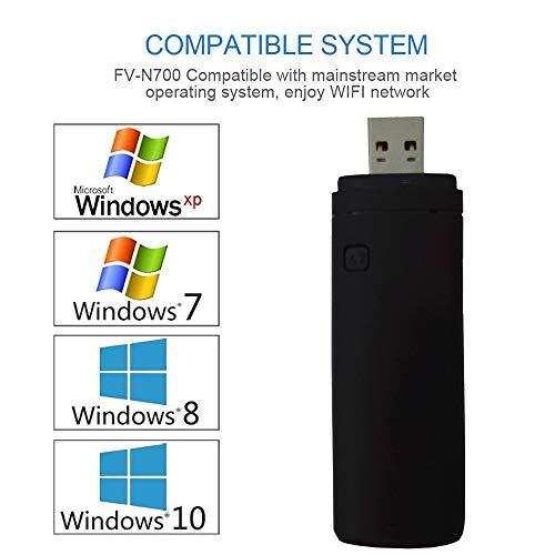 41qJkhHMs4L - Adaptador Wi-Fi inalámbrico USB para televisión, Fancartuk 802.11ac de doble banda 2,4 GHz y 5 GHz, adaptador USB de red WiFi inalámbrico para smart TV Samsung WIS12ABGNX WIS09ABGN 300M