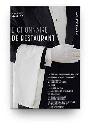 Dictionnaire de restaurant édit. 2011