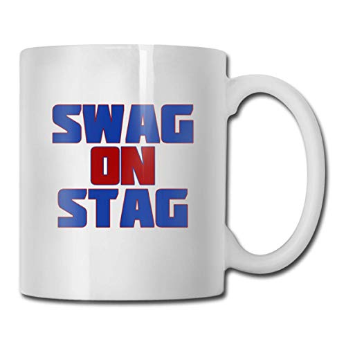 Daawqee Tazze Da Viaggio Coffee Mugs 11oz Funny Cup Milk Juice Or Tea Cup Swag On Stag Birthday