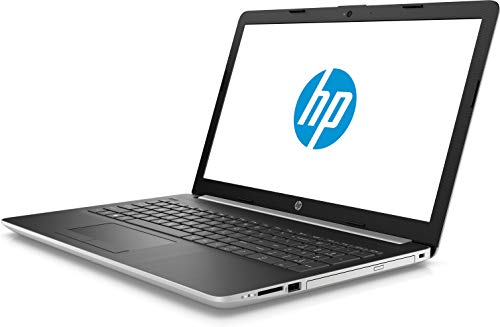 HP 15-da1030tu (Core i5 - 8th Gen /4 GB/1 TB/39.624 cm (15.6 Inch) FHD/Window 10 with MS Office Home & Student 2016) (Silver, 2.18 kg )