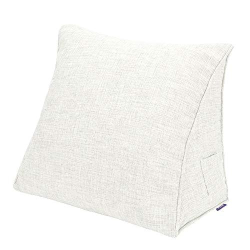 Keilkissen Lesekissen Keilförmiges Kissen Bett Couch Bettkeile Lendenkissen Bein/Mit abnehmbarem und waschbarem Bezug