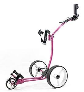 Yorrx® Slim Lion Pro 5Plus Chariot/chariot de golf/Golf Cart; d'action: gratuits Porte-parapluie, rose