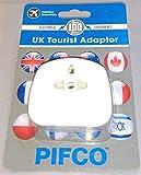 PIFCO TVL1012 - Adattatore da presa europea a inglese