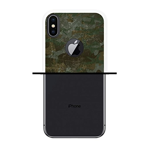 iPhone X Hülle, WoowCase Handyhülle Silikon für [ iPhone X ] Haifisch Maskottchen Handytasche Handy Cover Case Schutzhülle Flexible TPU - Schwarz Housse Gel iPhone X Transparent D0103