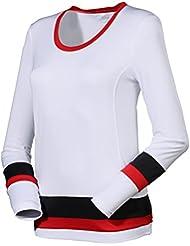 Fila manga larga Simi, color Weiß, tamaño S-36