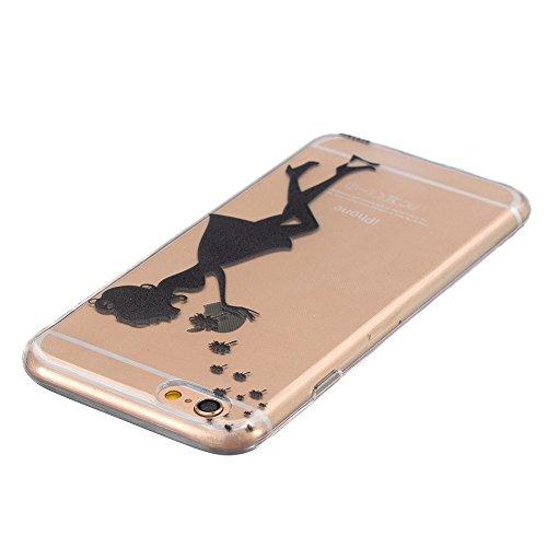 TPU Silikon Schutzhülle Handyhülle Painted pc case cover hülle Handy-Fall-Haut Shell Abdeckungen für Smartphone Apple iPhone 6 6S+Plus (5.5 Zoll)+Staubstecker (A10) 2