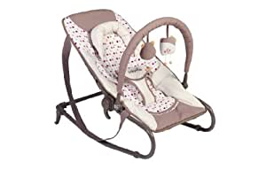 Babymoov Bubble Bouncer (Brown/ Red)