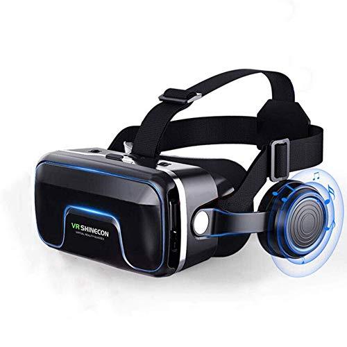 XIEXJ Vr Smart Brille, Große Viewing Intensives Erlebnis 3D-Virtual-Reality-Videospiele Gläser VR Gläser Mit HiFi-Kopfhörer