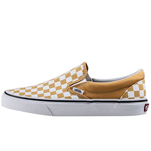 Vans Classic Slip-on, Baskets Infilare Unisexe - Adulte Jaune Blanc