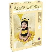 Grandi Giochi GG90101 - Puzzle Anna Geddes 1000 Pezzi, Baby Bee