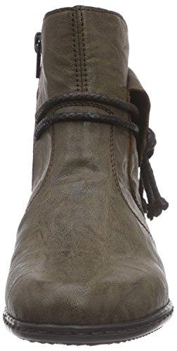 Rieker Y0793, Bottes femme Marron (mud / 25)