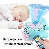 Nisels Baby Music Box-Starlight Music Cartoon Toy Gifts, Sensory Puzzle Giochi di attività per Bambini (Blu, One Size)