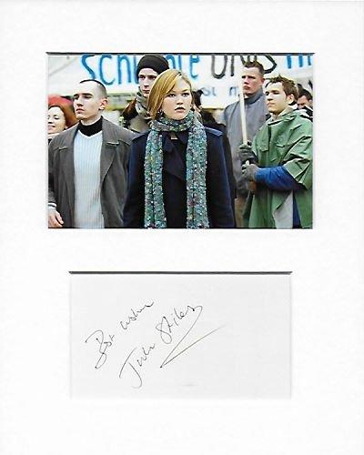 Die Bourne Ultimatum-Nicky Parsons-Julia Stiles Genuine Authentic Hand Autogramm AFTAL COA (Blu-ray Ultimatum Das Bourne)