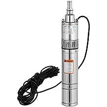 Autovictoria Bomba para Pozos 220V 370W 0.5HP Bomba de Agua Sumergible 90m 1200L / H