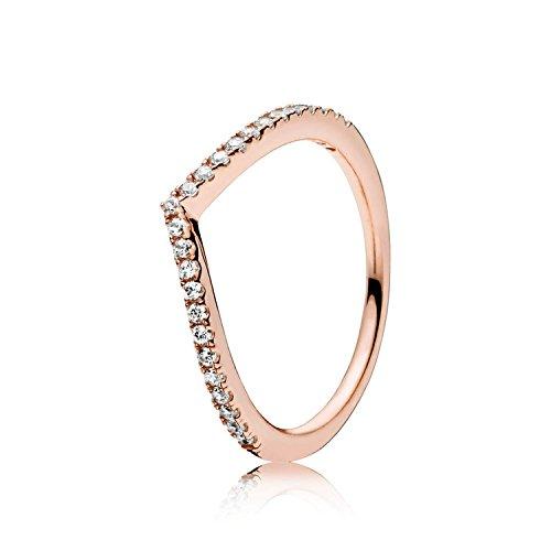 Pandora anello componibile donna oro_rosa - 186316cz-56