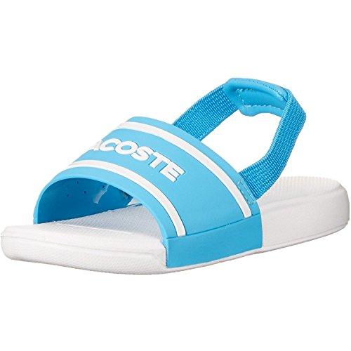 Lacoste L.30 118 2 Blue/White Rubber Baby Flip Flops