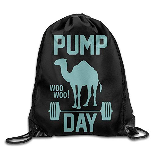 OQUYCZ Pump Day GymCool Drawstring Backpack String Bag - 6 Trash Pump