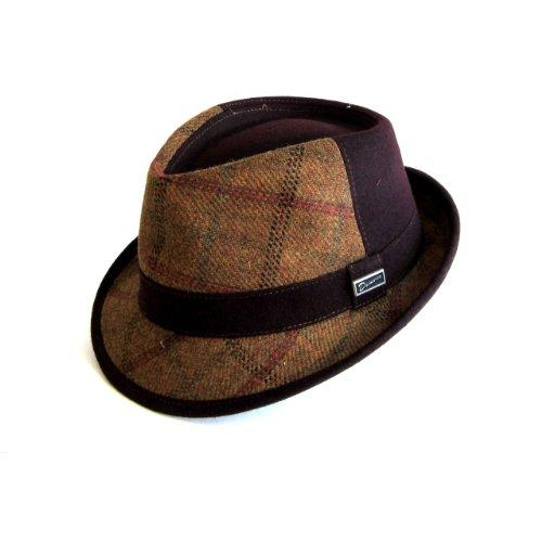 Dasmarca-Collection Hiver-Chapeau de Tweed-Jeffrey