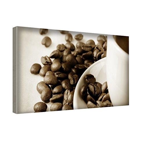 Piacere 005, Tazza di Caffè, Stampa Artistica su Canvas Quadro su Tela Immagine su Telaio (Personalizzati Tazza Di Caffè)