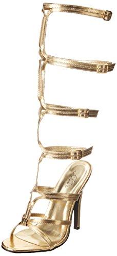 Ellie Shoes Damen 510-SEXY, Gold, 43 EU