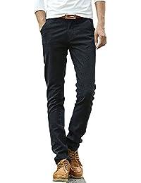 Unknown - Pantalon - Skinny - Homme noir noir 38