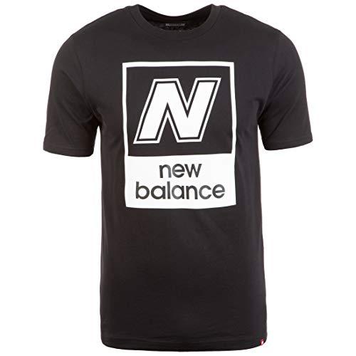 New Balance Essentials N Box T-Shirt Herren schwarz, L